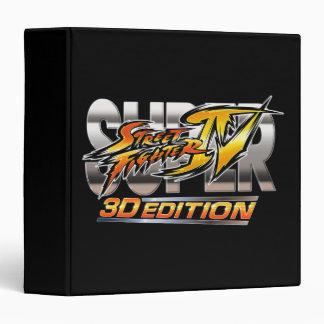 Logotipo estupendo de la edición 3D de Street Figh