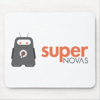 Logotipo estupendo de las Novas Tapete De Ratones