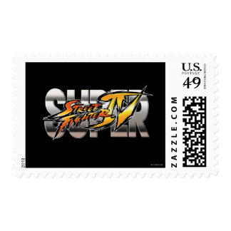 Logotipo estupendo de Street Fighter IV Sellos