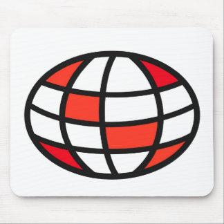 Logotipo experto del equipo del vínculo tapete de ratones