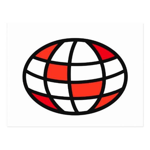 Logotipo experto del equipo del vínculo tarjeta postal