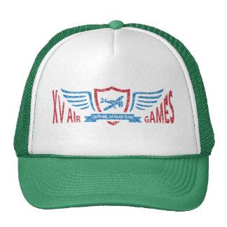 Logotipo ficticio de la aviación del vintage - gor gorras
