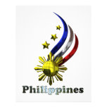 Logotipo filipino original. ¡Mabuhay Pilipinas! Membrete A Diseño