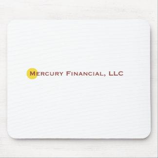Logotipo financiero I de Mercury Tapetes De Ratones