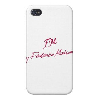 logotipo [FM DE FEDERICO MAHORA] iPhone 4 Carcasas