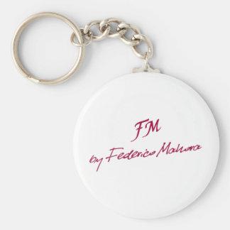 logotipo [FM DE FEDERICO MAHORA] Llaveros