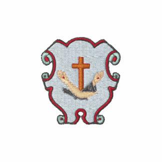 Logotipo franciscano - escudo camiseta polo bordada