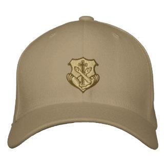 Logotipo franciscano - escudo gorra de beisbol