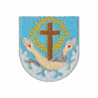 Logotipo franciscano - escudo polo bordado