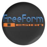 Logotipo FreeForm del diseño Platos