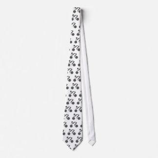 Logotipo fresco de ciclo corbata