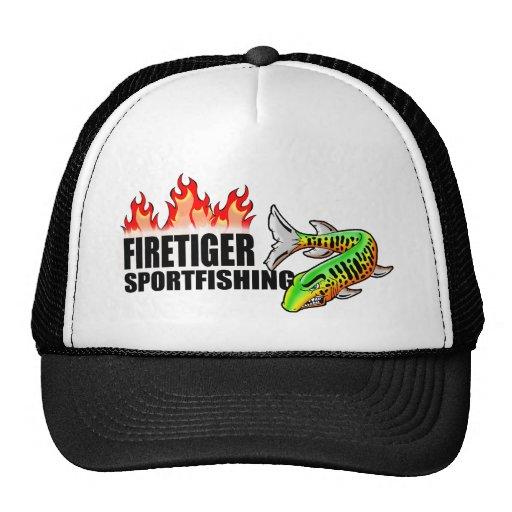 Logotipo Gorra-horizontal de Firetiger Sportfishin