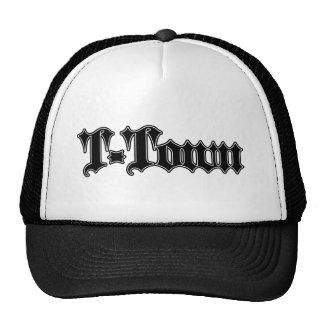 logotipo gótico de la T-ciudad (Houndstooth) Gorra