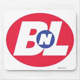Logotipo grande de la compra N de WALL-E BnL Tapetes De Raton