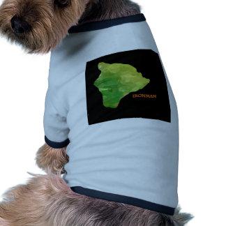 Logotipo grande de la isla de Ironman Ropa De Perros