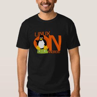 Logotipo grande de LinuxonAndroid Playera
