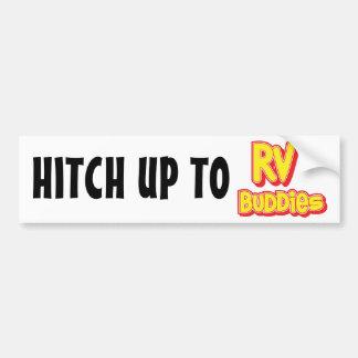 Logotipo grande de los compinches de rv pegatina para auto