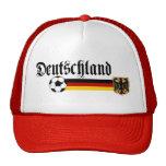 Logotipo grande del fussball de Deutschland Gorras