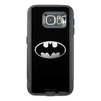 Logotipo granoso 2 del símbolo el | de Batman Funda OtterBox Para Samsung Galaxy S6