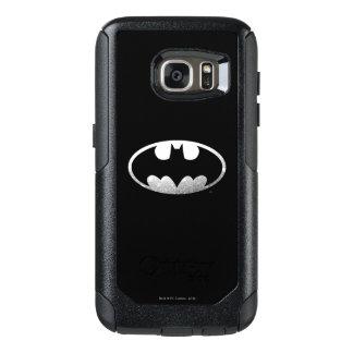 Logotipo granoso 2 del símbolo el | de Batman Funda Otterbox Para Samsung Galaxy S7