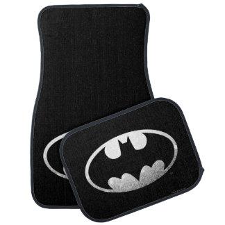Logotipo granoso del símbolo el | de Batman Alfombrilla De Auto