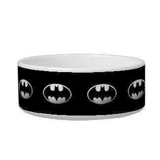 Logotipo granoso del símbolo el | de Batman Comedero Para Mascota