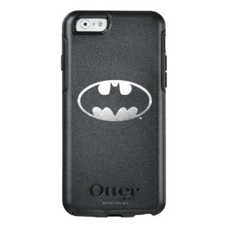 Logotipo granoso del símbolo el | de Batman Funda Otterbox Para iPhone 6/6s