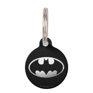 Logotipo granoso del símbolo el | de Batman Identificador Para Mascota