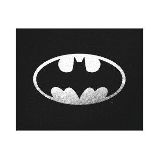 Logotipo granoso del símbolo el | de Batman Impresiones En Lienzo Estiradas