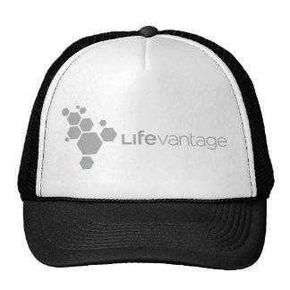 Logotipo-gris corporativo de LifeVantage Gorros Bordados