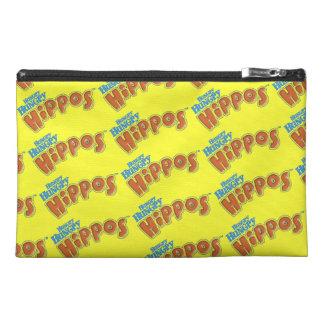 Logotipo hambriento hambriento de los hipopótamos