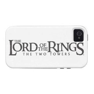 Logotipo horizontal de LOTR iPhone 4 Funda