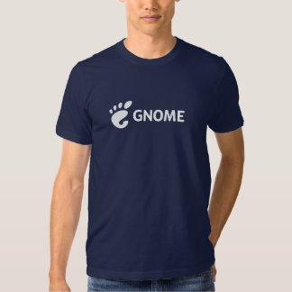 Logotipo horizontal del GNOMO Polera