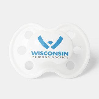 Logotipo humano 2015 de la sociedad de Wisconsin Chupete De Bebé