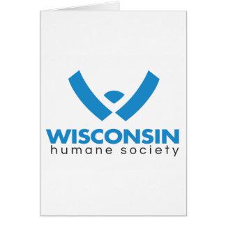 Logotipo humano 2015 de la sociedad de Wisconsin Tarjeta De Felicitación