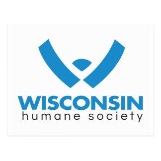 Logotipo humano 2015 de la sociedad de Wisconsin Tarjetas Postales