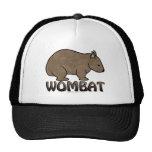 Logotipo II de Wombat Gorras