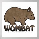 Logotipo II de Wombat Impresiones