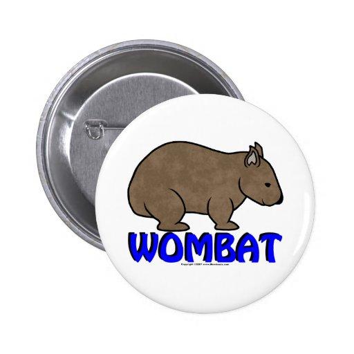 Logotipo III de Wombat Pins