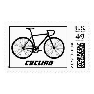 Logotipo IIIa del poste de la bicicleta, Sellos Postales