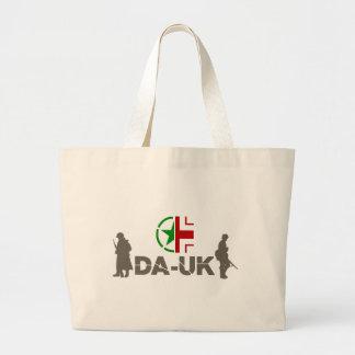 """Logotipo impreso de la """"munición"""" del bolso de DAU Bolsa Tela Grande"""