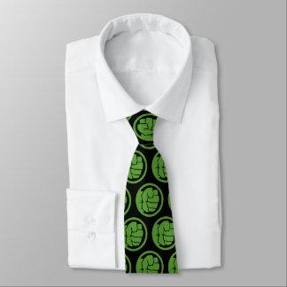 Logotipo increíble del armatoste corbata
