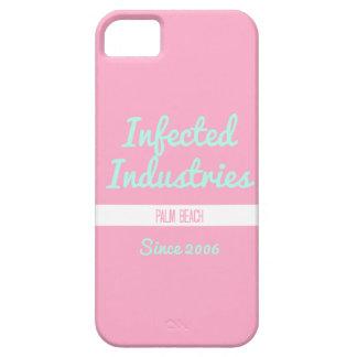 Logotipo infectado Bubblegum de las industrias Funda Para iPhone SE/5/5s