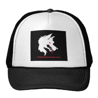 logotipo inverso gorra