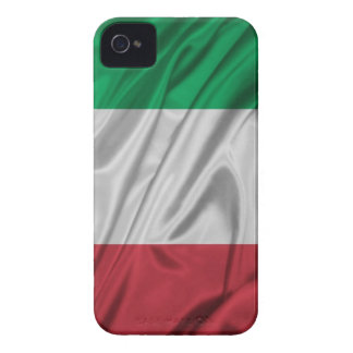 Logotipo italiano de la bandera iPhone 4 cárcasas