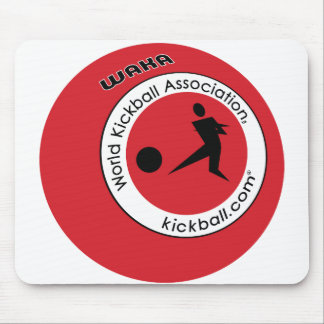 Logotipo Kickball Alfombrillas De Raton