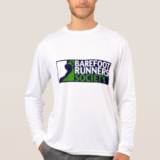 Logotipo largo de la manga de la microfibra del camisetas