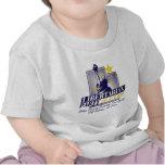 Logotipo libertario del fiesta de Utah Camisetas