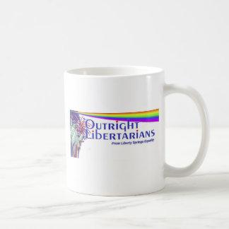 Logotipo libertario del fiesta taza clásica