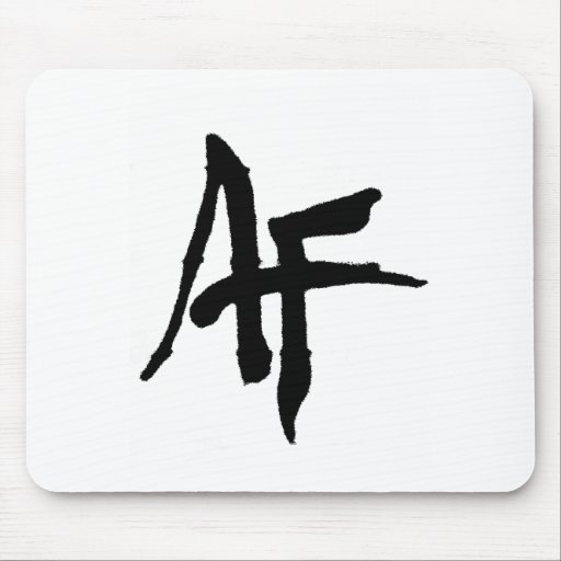 Logotipo llano de AlphaFitt Alfombrilla De Raton